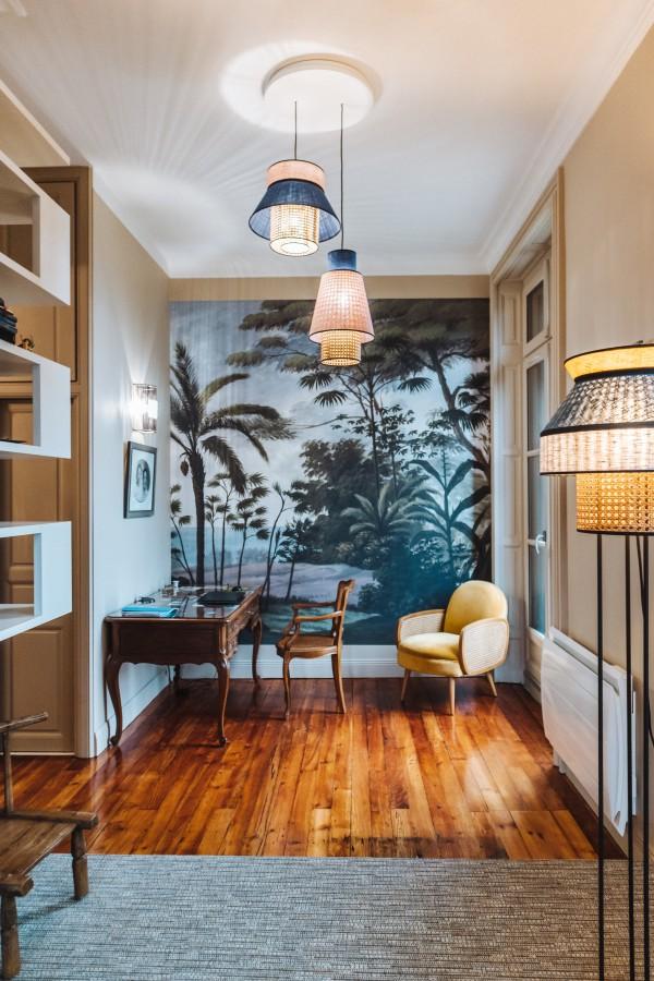 Amenagement salon appartement historique Bayonne