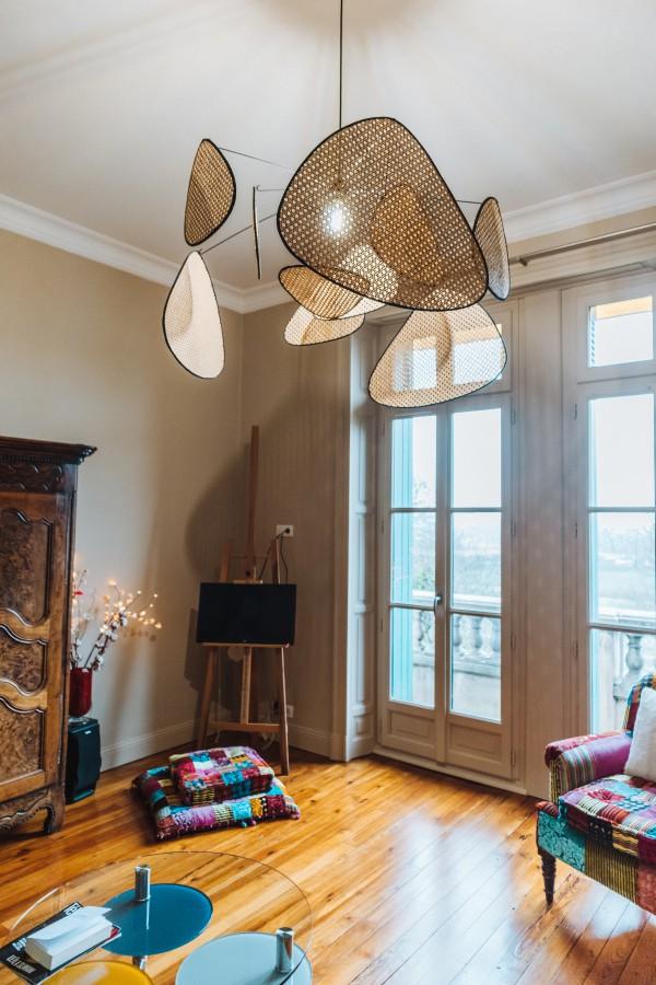 Amengement salon appartement historique Bayonne
