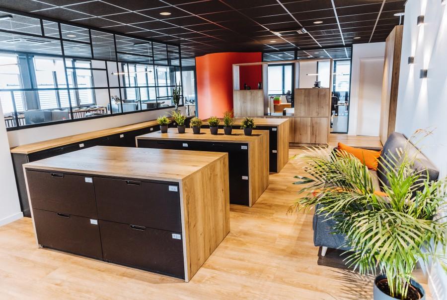 Creation meuble rangement bureaux Biarritz