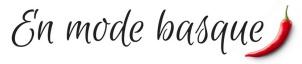 Blog en mode basque