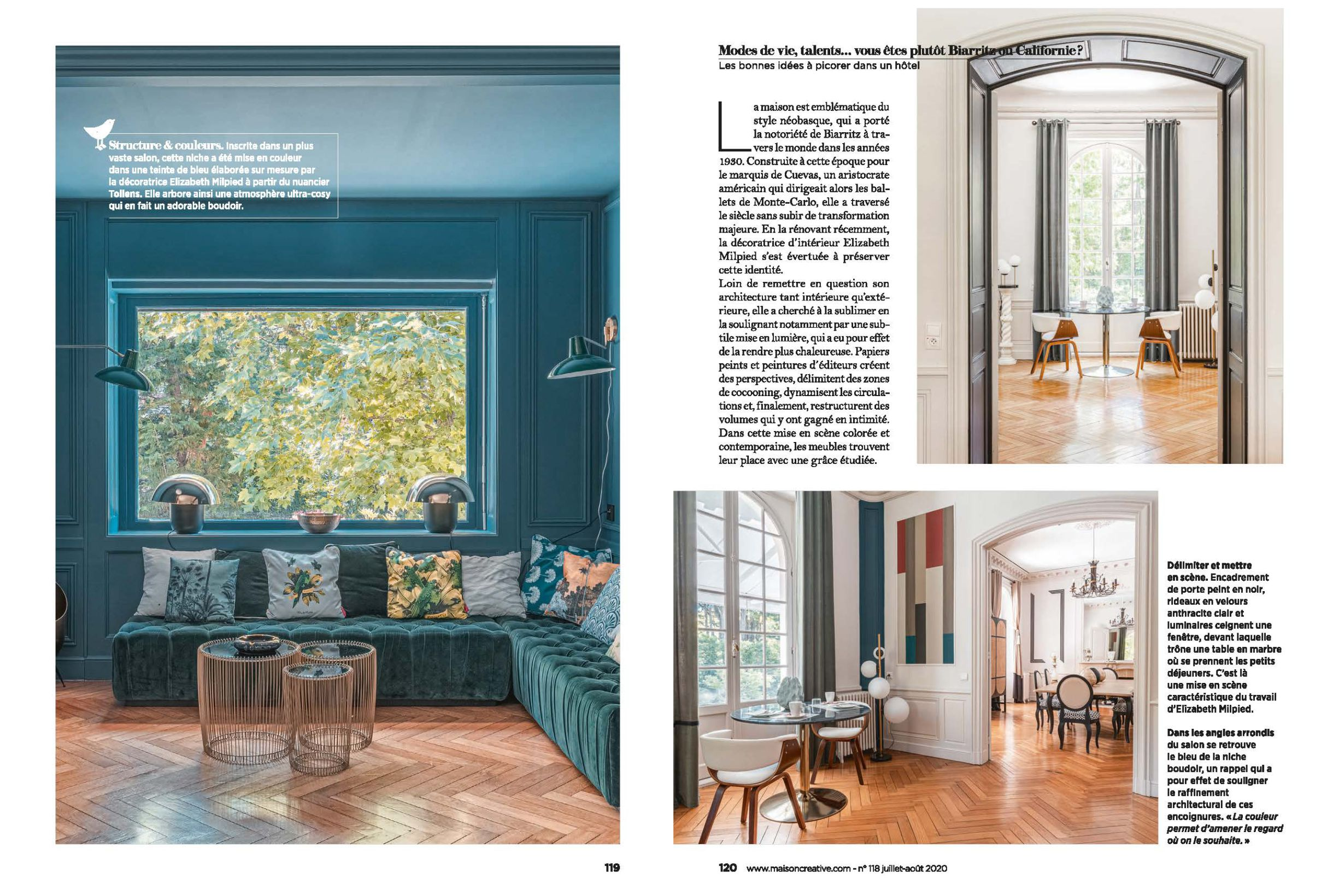 Maison creative article agence milpied